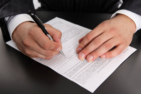 ИП производит процедуру снятие с учёта