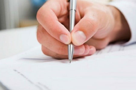 Пишем заявление на регистрацию ИП