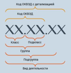 Структура ОКВЭД