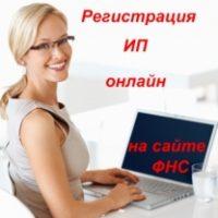 Регистрация ИП через интернет