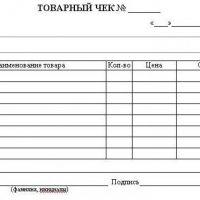 Товарный чек для ИП: назначение и правила заполнения